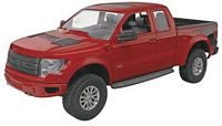 Revell 1233 1:25 Scale, 2013 Ford F-150, Raptor, Plastic Model Kit, Snap Tite Max, 49 Pieces