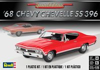 Revell 4445 1:25 Scale, 1968 Chevy Chevelle SS 396, Plastic Model Kit