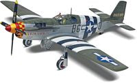Revell 85-5535 1:32, P-51B, Mustang, North American