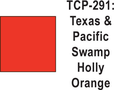 Tru Color TCP-291 Texas and Pacific Swamp Holly Orange 1 ounce