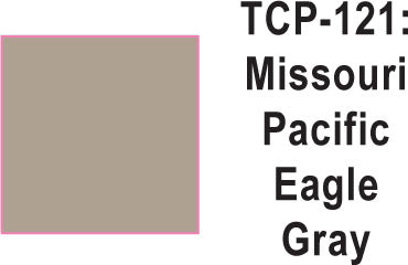 Tru Color TCP-121 Missouri Pacific Eagle Gray Paint 1 ounce
