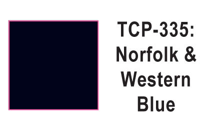 Tru Color TCP-335 Norfolk and Western, Blue, Paint 1 ounce