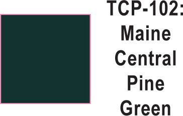 Tru Color TCP-102 Maine Central Pine Green Paint 1 ounce