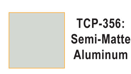 Tru Color TCP-356 Semi-Matte Aluminum, Paint 1 ounce