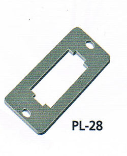 Peco PL-28 Switch Mounting Plates (6) For use with Lever Switches