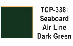 Tru Color TCP-338 Seaboard Air Lines, Dark Green, Paint 1 ounce