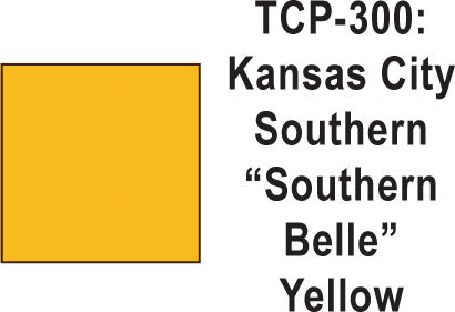 Tru Color TCP-300  Kansas City Southern Southern Belle Yellow 1 ounce