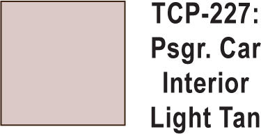 Tru Color TCP-227 Passenger Car Interior Light Tan Paint 1 ounce