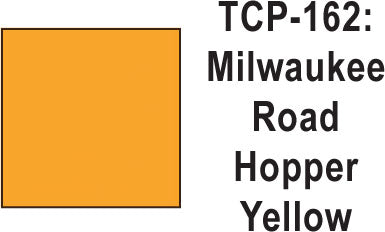 Tru Color TCP-162 Milwaukee Road Hopper Yellow Paint 1 ounce