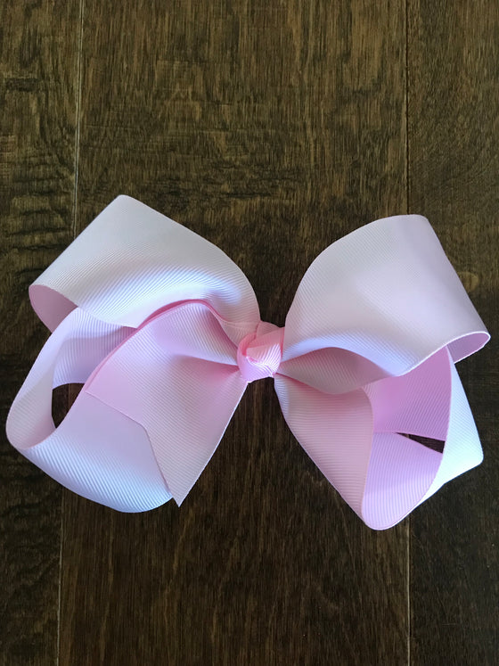 Hair Bow - Light Pink