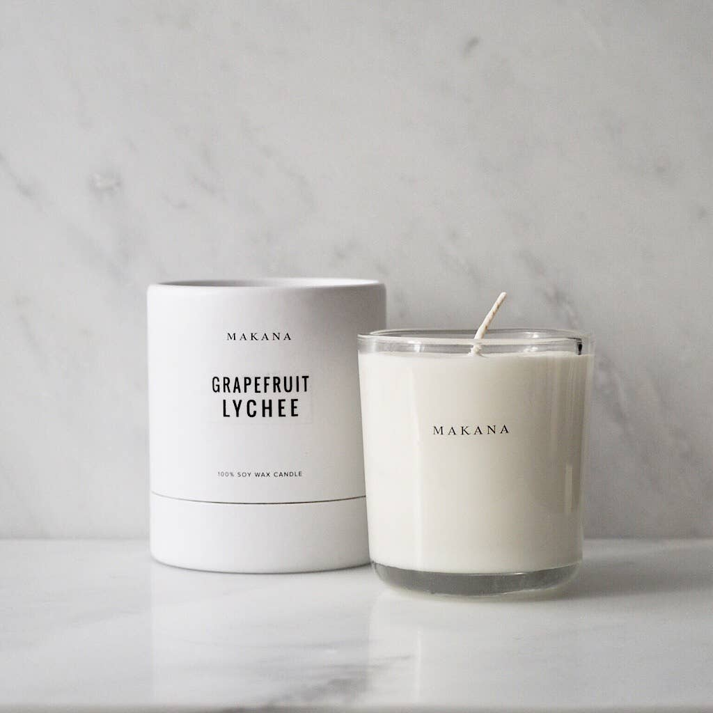 Grapefruit Lychee - Classic Candle 10 oz - She's Unique Jewelry