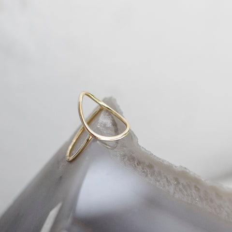 Open Circle Ring - She's Unique Jewelry