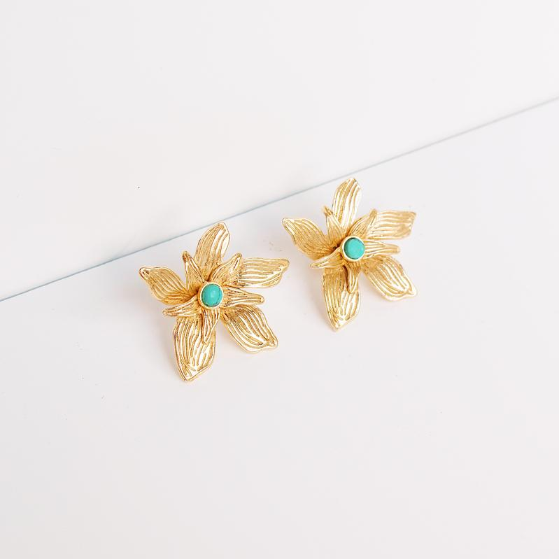 Penelope Earring | Turquoise - She's Unique Jewelry