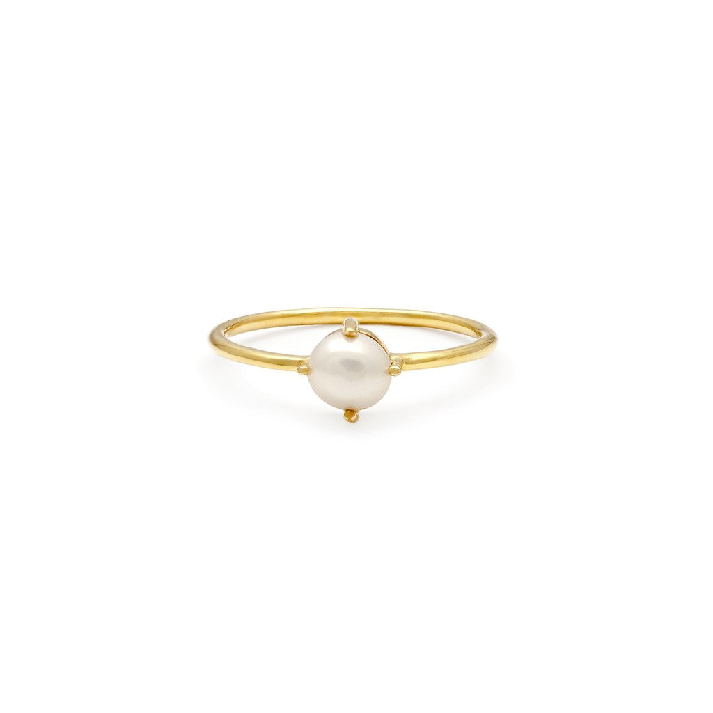 Compass Ring | Pearl - She's Unique Jewelry