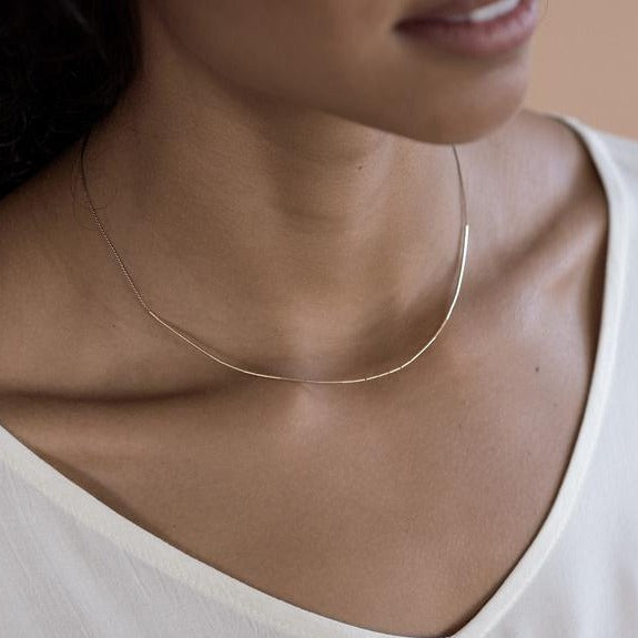 Abacus Row Circinus Necklace - She's Unique Jewelry