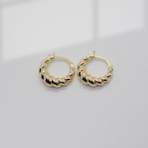 Croissant Hoops | Small - She's Unique Jewelry