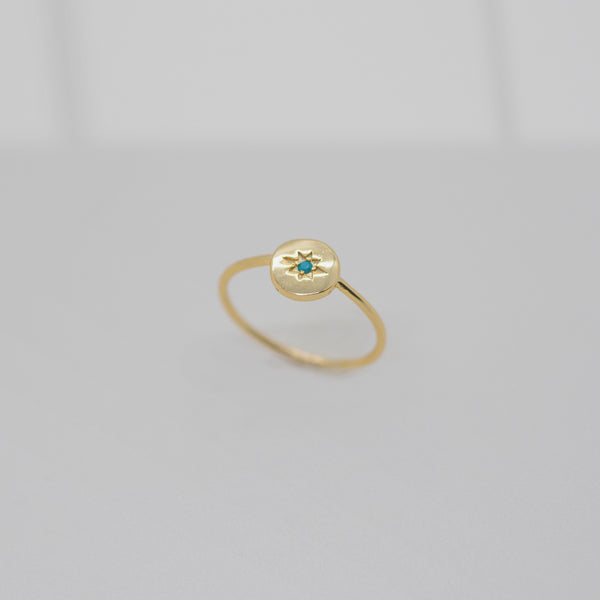 Emma & Chloe Lucie Triangle Ring