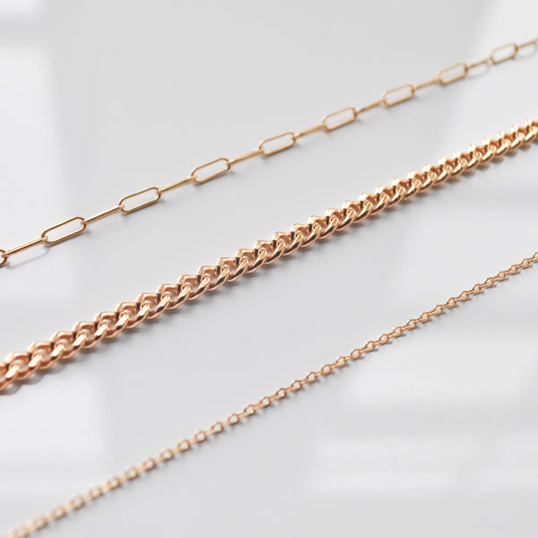 Curb Chain | Goldfill - She's Unique Jewelry