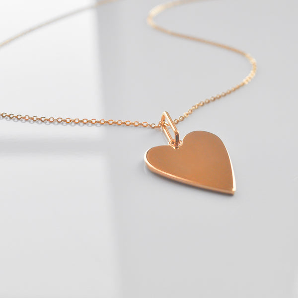 Amaya Heart Necklace - She's Unique Jewelry