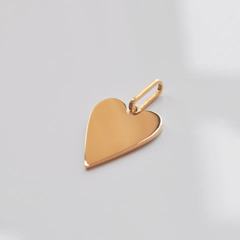 Amaya Heart Charm - She's Unique Jewelry