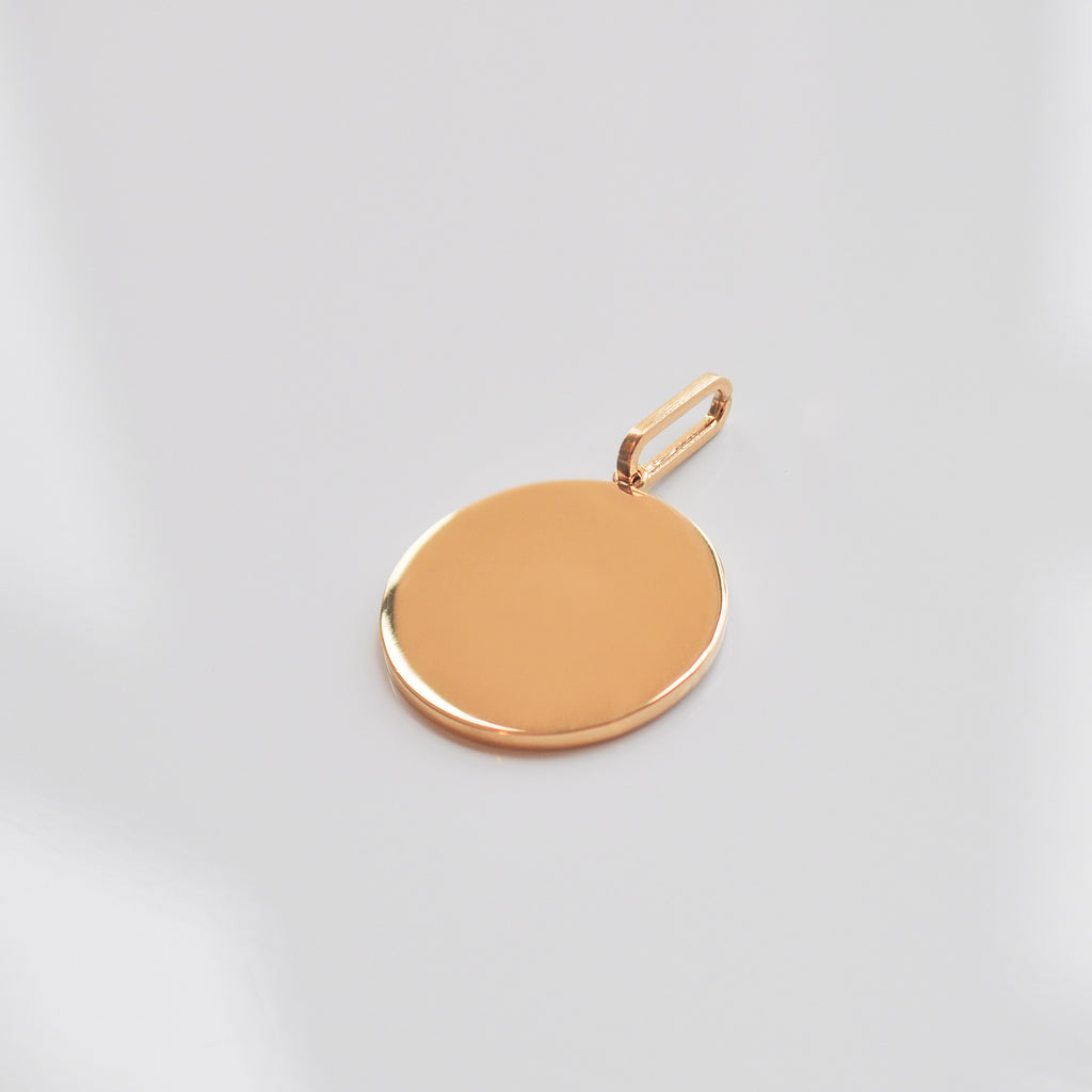 Balia Engravable Disc - She's Unique Jewelry