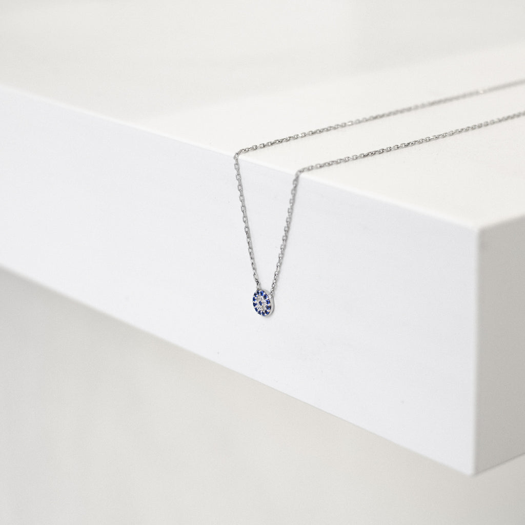 Itty Bitty Eye Necklace - She's Unique Jewelry
