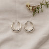 Malia Chunky Hoop Earrings - She's Unique Jewelry