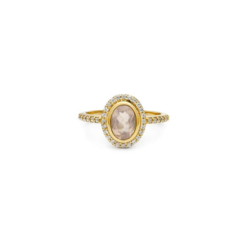 Cameo Ring | Rose Quartz