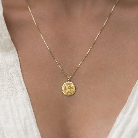 St. Christopher Pendant Necklace