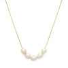 Mer Necklace | Pearl