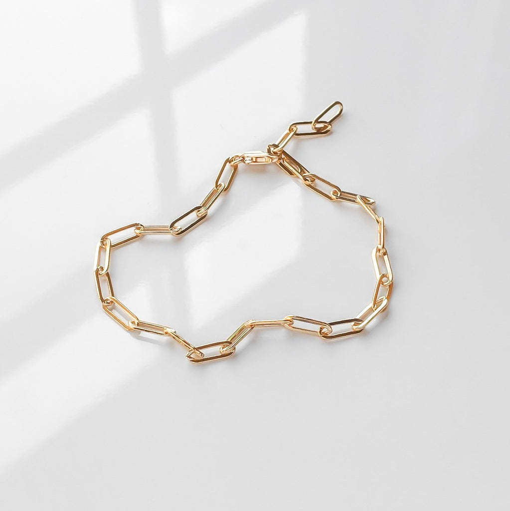 Finn Chain Anklet - She's Unique Jewelry