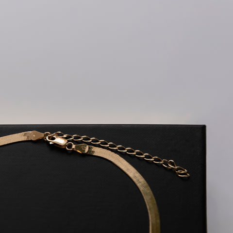 Snake Chain Choker Necklace