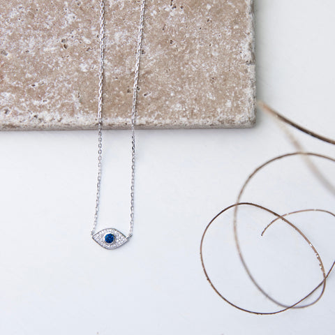 Sazan Eye Necklace - She's Unique Jewelry