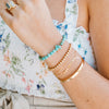 Amy Gold Bead Bracelet - She's Unique Jewelry