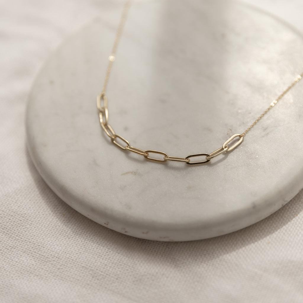 Renata Links Necklace - She's Unique Jewelry