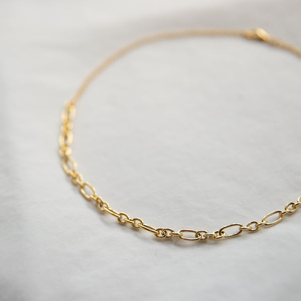 Chunky Oval Link Necklace