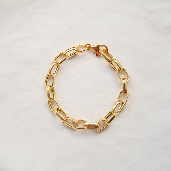 Chunky Oval Link Bracelet - She's Unique Jewelry