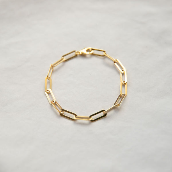Elongated Links Bracelet - She's Unique Jewelry