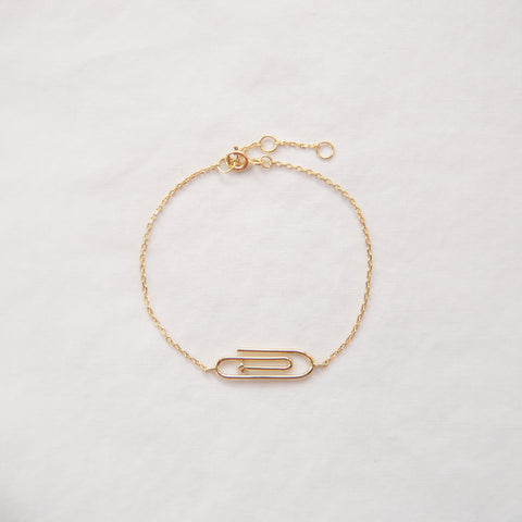 Paper Clip Bracelet - She's Unique Jewelry
