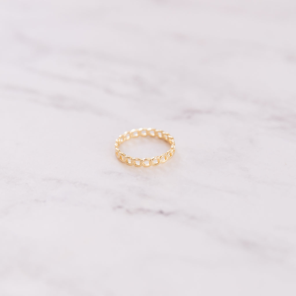 Mini Chain Ring - She's Unique Jewelry