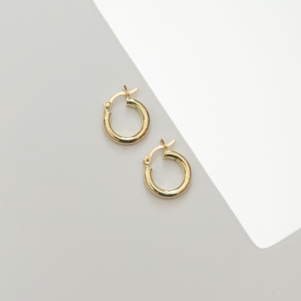 Classic Hoop Earrings | Small - She's Unique Jewelry