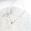 Glint necklace | white CZ - She's Unique Jewelry