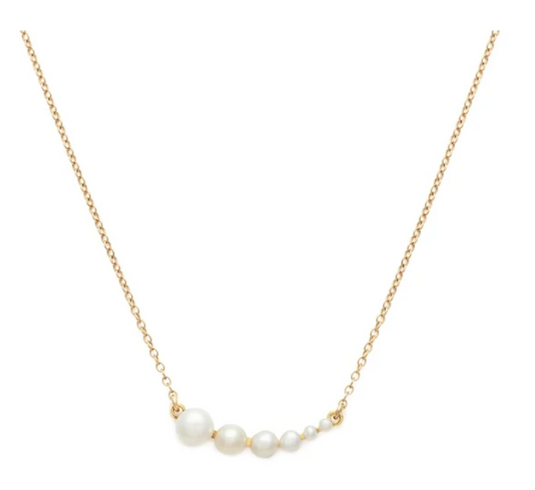 Rive Necklace | Pearl - She's Unique Jewelry