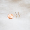 Teeny Tiny Bezel Stud Earrings - She's Unique Jewelry