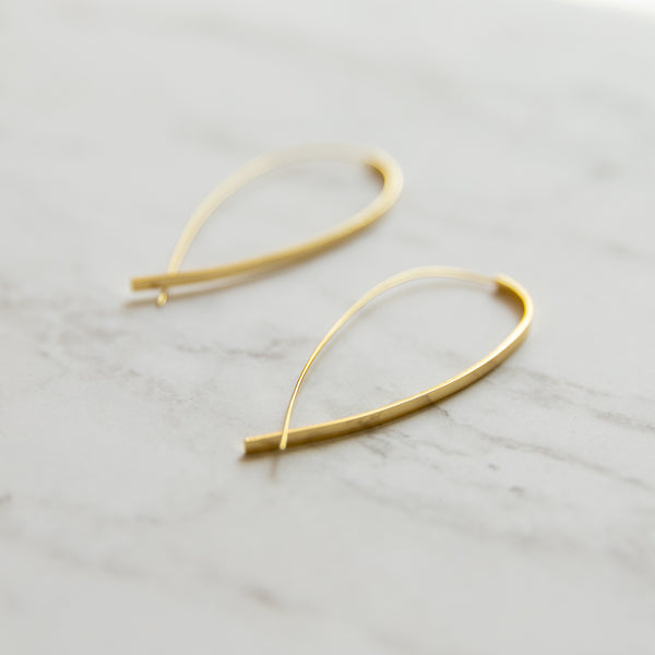 Alena Bar Threader Earrings - She's Unique Jewelry