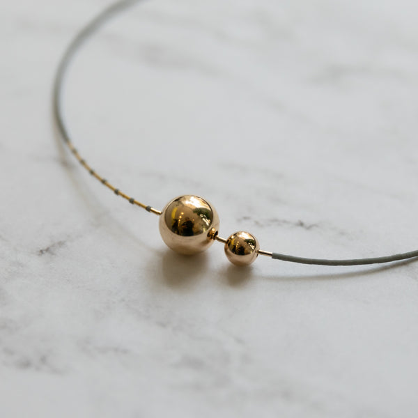 Abacus Row Mimas Necklace | Rain - She's Unique Jewelry