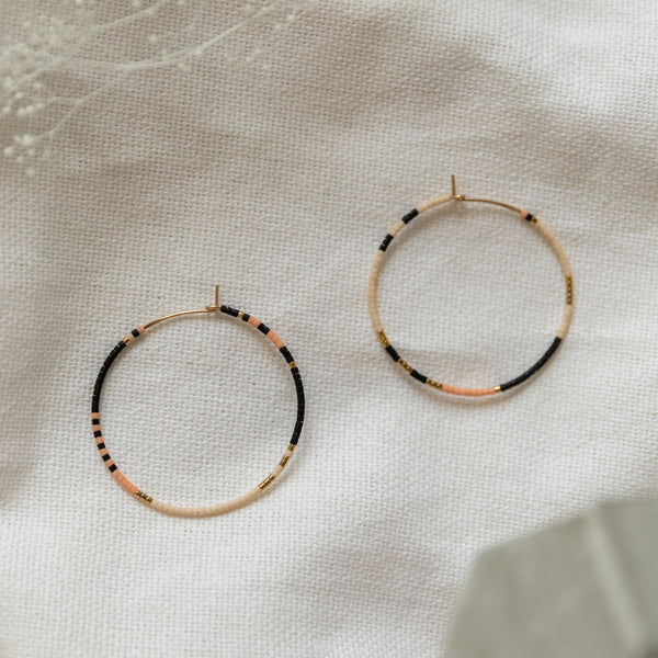 Abacus Row Tanami Hoops | Large - She's Unique Jewelry