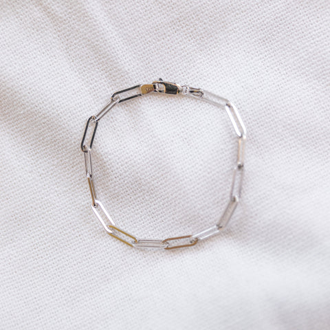 Long Links Bracelet - She's Unique Jewelry