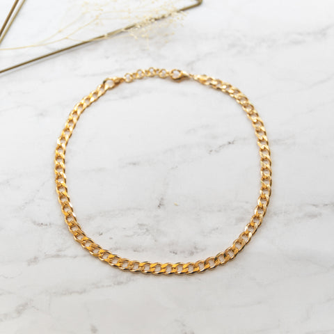 Chunky Cuban Link Chain Necklace - She's Unique Jewelry