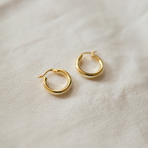 Small Classic Hoop Earrings - She's Unique Jewelry